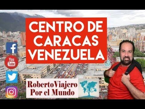 Asi esta el centro de Caracas, Venezuela 2019