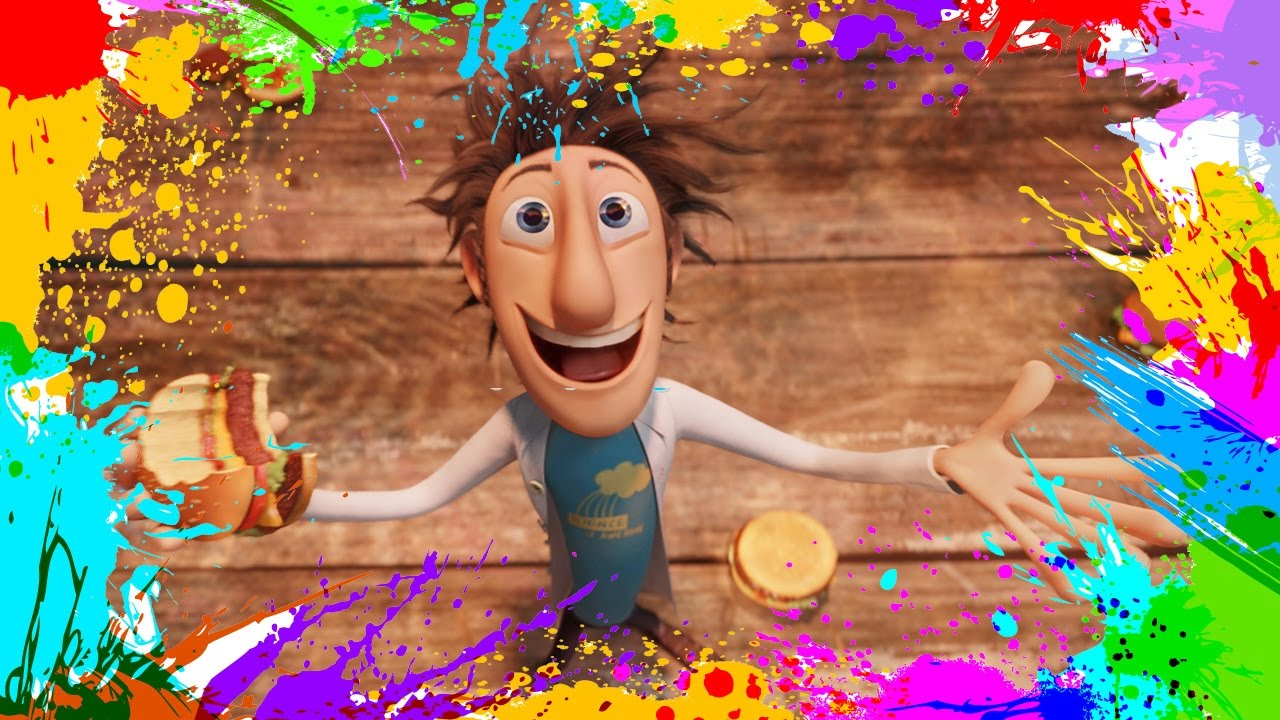 painting cloudy with a chance of meatballs coloring book pages