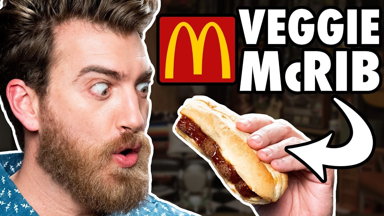 Beyond Meat McRib Taste Test