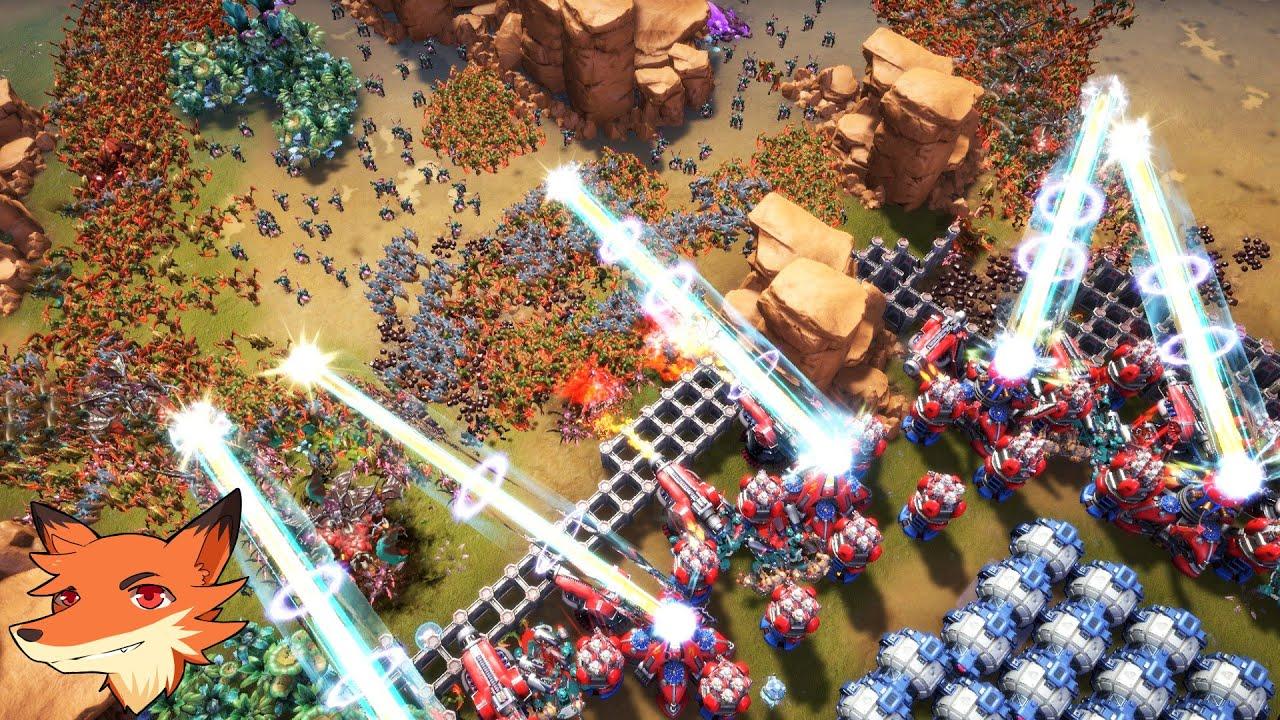 Download Alien Marauder [FR] Un RTS avec des batailles qui peuvent dépasser les 100 000 unités!