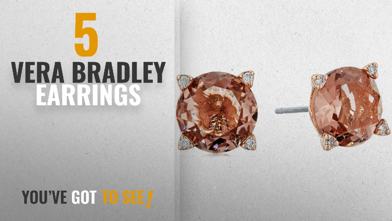 10d59429ae634 10 Best Vera Bradley Design Earrings: Vera Bradley