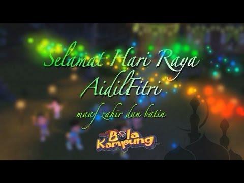 Bola Kampung Hari Raya Greeting 2013