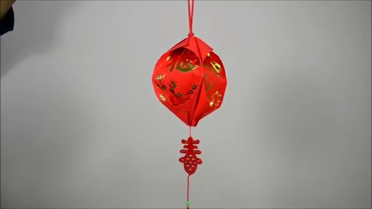 diy chinese new year lantern tutorial 01 central market kuala lumpur youtube - Chinese New Year Lantern