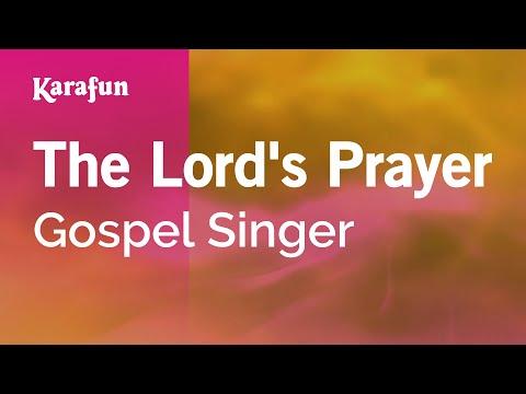 Karaoke The Lord's Prayer - Gospel Singer *