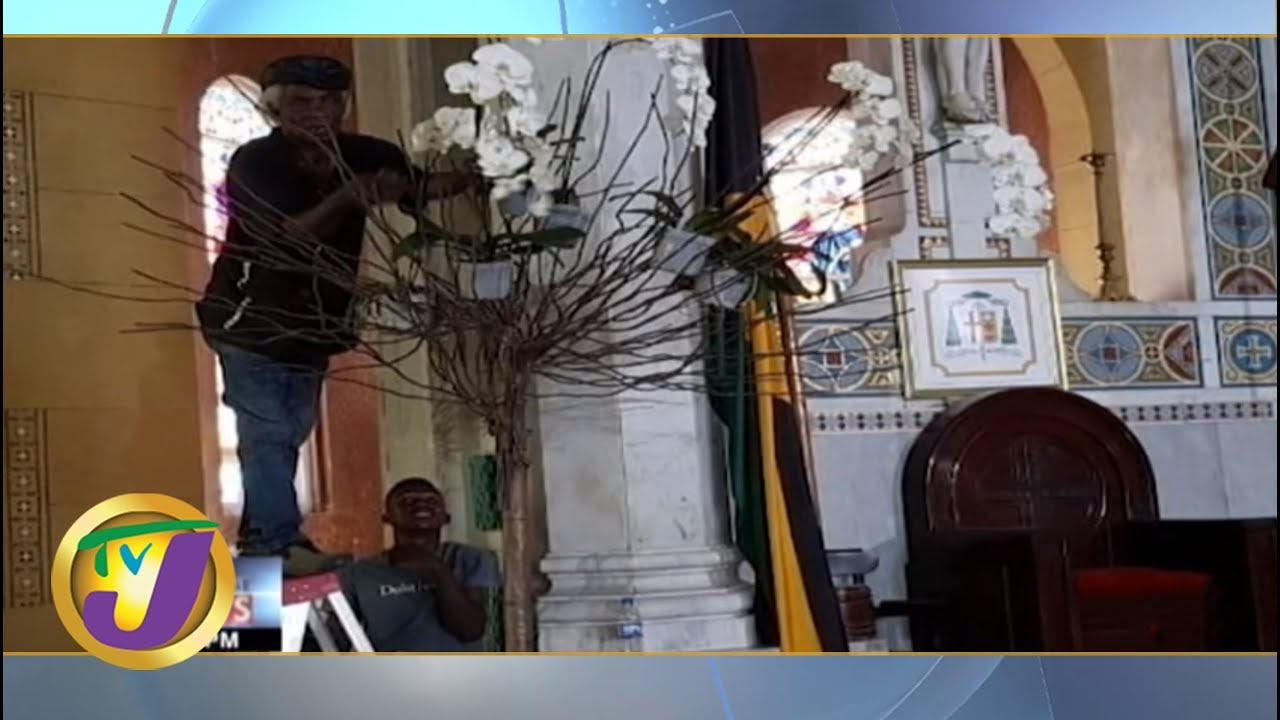 TVJ News Today: Edward Seaga State Funeral Preparations - June 22 2019
