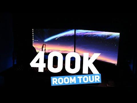 400K THE DREAM CRAFT ROOM TOUR!