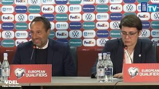 Συνέντευξη Τύπου | Post Match | Αρμενία-Ελλάδα | 15/11/19