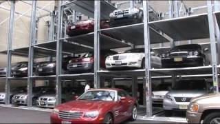PARKPLUS Quad Stacker Parking System, Mt Sinai Hospital, NYC