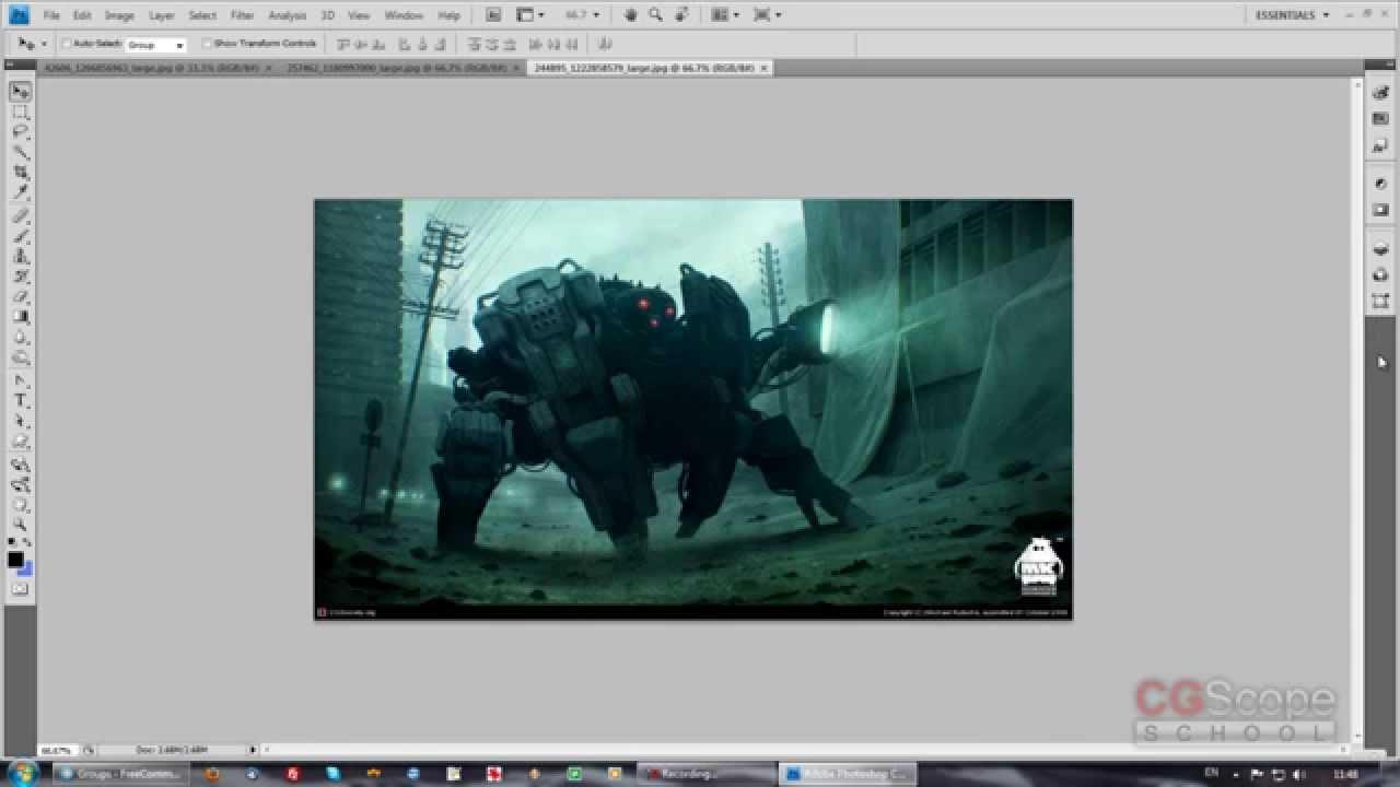 Обучение работе с фотошопом бесплатно обучение работе на компьютере бесплатно видео уроки