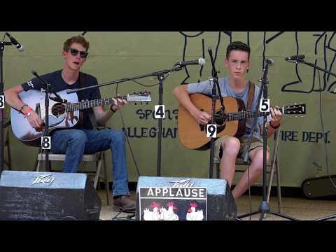 Gabe Bemus - Beaumont Rag (1st Place Jr. Guitar - Sparta)