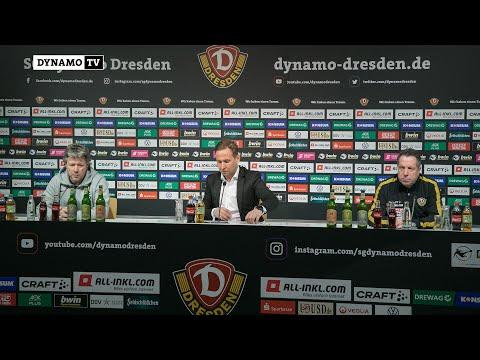 20. Spieltag | SGD - FCK | Pressekonferenz nach dem Spiel