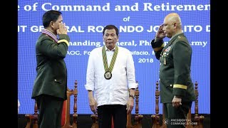 Duterte to military, police: 'Do not engage in partisan politics'