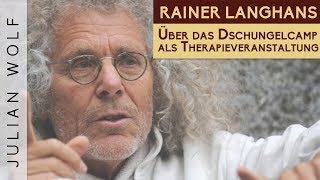 Warum Rainer Langhans das Dschungelcamp als Therapieveranstaltung sieht