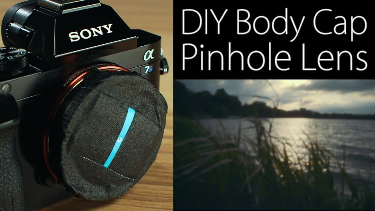 How To Make A Body Cap Pinhole Lens For Your Digital Camera
