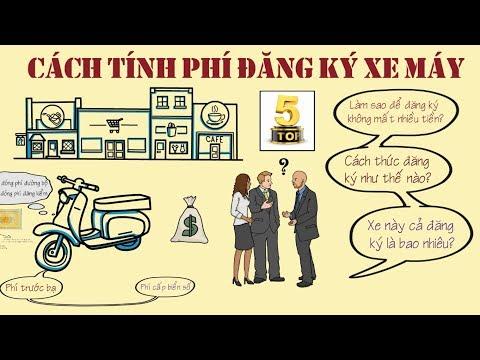 Cách Tính Phí ĐĂNG KÝ Xe Máy Tại Việt Nam Theo đúng Quy định|TOP 5 ĐAM MÊ