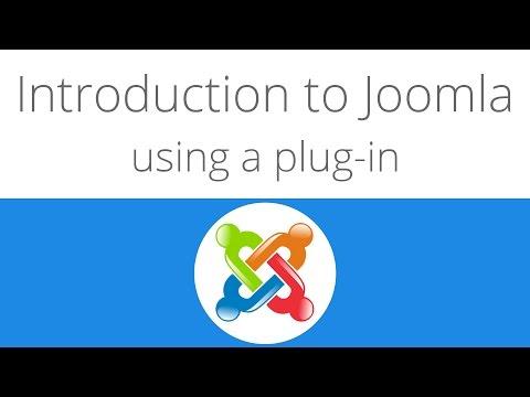 Joomla For Beginners Tutorial 6 - Installing A Plug-in