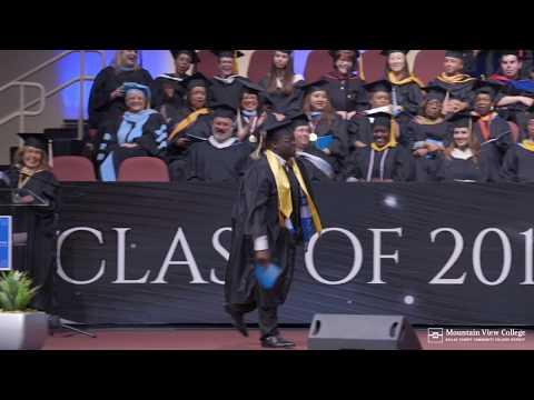 Mountain View College Graduation Recap 2017
