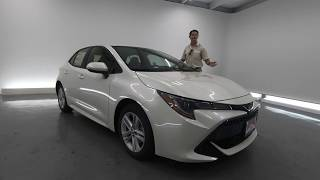 2019 Toyota Corolla Hatchback First Drive & Review