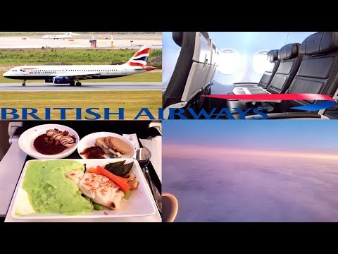 British Airways CLUB EUROPE | HEL-LHR |A320