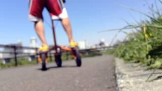 Ski Training 024 Trikke Uphill And Downhill