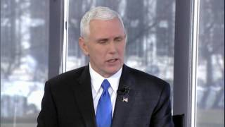 VP-Elect Pence talks to Bret Baier ahead of inauguration.