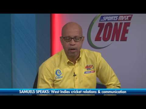 Marlon Samuels on WICB Communications & ODI non-selection | Part 1 | SportsMax Zone | Feb 22, 2017