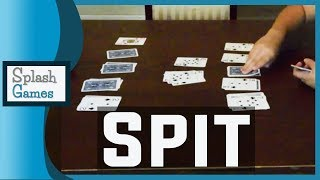 Card Game: Spit