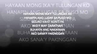 Pwede bang ako nalang ulit by bugoy karaoke