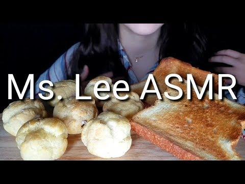 아이스 초코슈/토스트 먹방 리얼사운드 ASMR *ice Choco Shu & Toast* NO TALKING MUKBANG EATING SOUND
