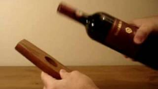 Self Balancing Wine Bottle Holder From Www.heartwoodgifts.com