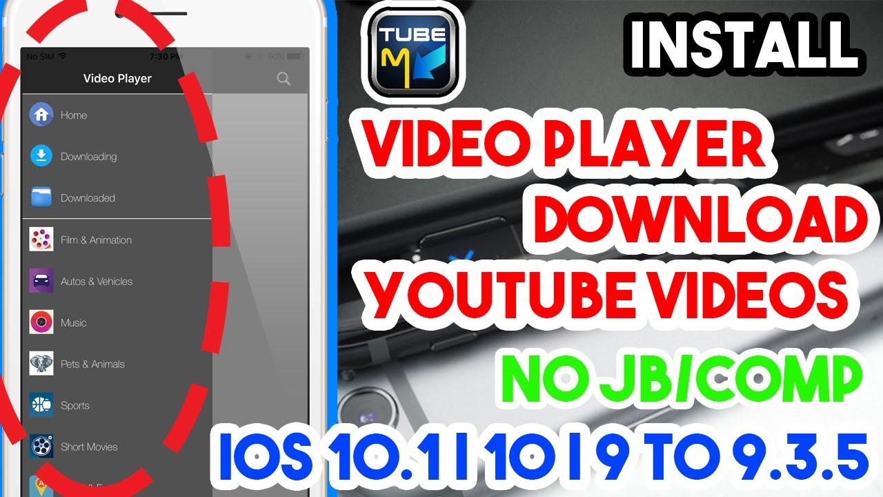 descargar youtube player para ios