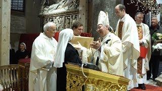 Imenovanje novoga katedralnog orguljaša  i zahvala s. Mirti Škopljanac Mačina