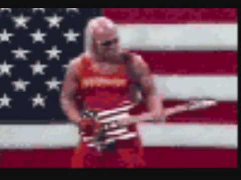 hulk hogans theme song real american