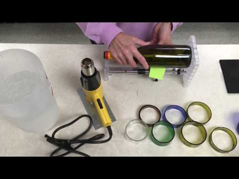 New version luca bottle cutter cut bottles to any shape for How to cut glass bottles lengthwise