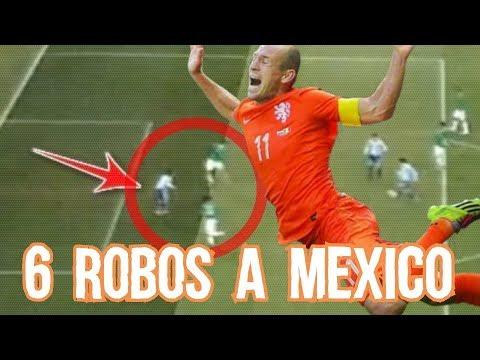 6 Robos al Futbol Mexicano en Selecci�n y Equipos MicroTop Boser Salseo