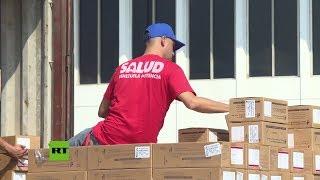 Llega a Venezuela el tercer avión con ayuda humanitaria de China