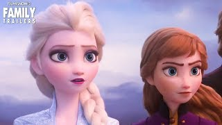 Anna and Elsa return in FROZEN 2 Teaser Trailer   Disney Animated Movie 2019