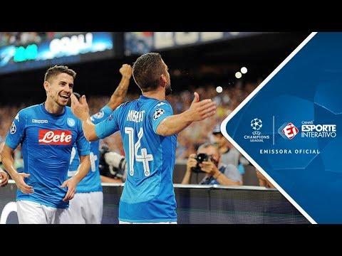 Melhores Momentos - Napoli 2 X 0 Nice - Champions League (16/08/2017)