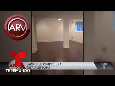 Cardi B muestra la lujosa casa que le compró a su madre | Al Rojo Vivo | Telemundo