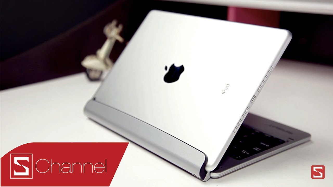 Schannel – Trên tay bàn phím cho iPad Air – Minisuit Bluetooth Keyboard Stand Case – CellphoneS