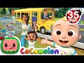 Wheels On The Bus School Edition  + More Nursery Rhymes & Kids Songs - CoComelon