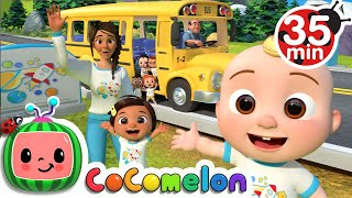 Wheels On The Bus (School Edition)  + More Nursery Rhymes & Kids Songs  CoComelon