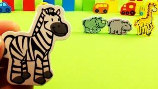 Голоса ДИКИХ ЖИВОТНЫХ для детей - Уроки с Микки Маусом
