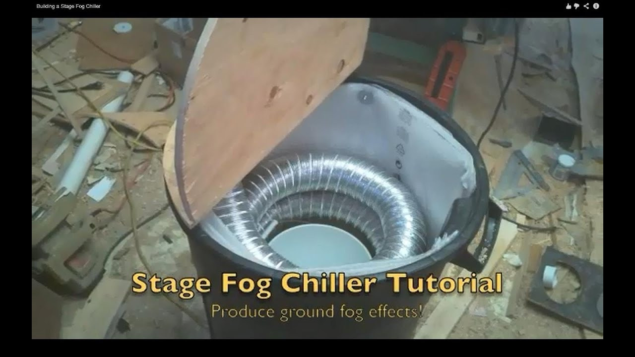 Building a Stage Fog Chiller - YouTube