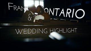 United Methodist Church Wedding Highlight | Frank + Ontario
