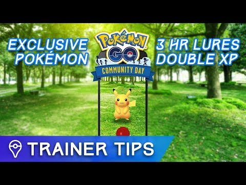 Download Youtube: ANNOUNCING NEW MONTHLY POKÉMON GO EVENT! POKÉMON GO COMMUNITY DAY!