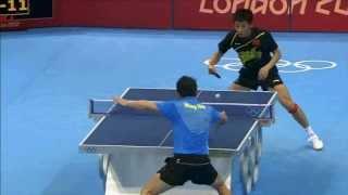 2012倫敦奧運-男子乒乓球冠軍賽(2012 London Olympiad-man's table tennis final)