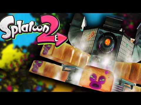 Splatoon 2 Game - FIRST BOSS! OCTO OVEN! - Splatoon 2 Gameplay Part 2 - Single Player Walkthrough
