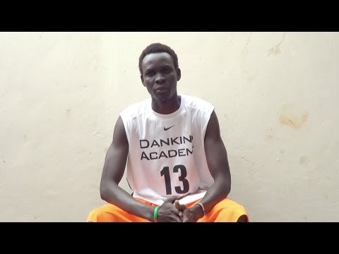 James Mathiang Luk (6ft 10) from South Sudan (Nairobi Basketball Association 1st Leg Highlights)