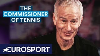 McEnroe: Stop Complaining About Your Balls!   The Commissioner of Tennis   Australian Open 2019